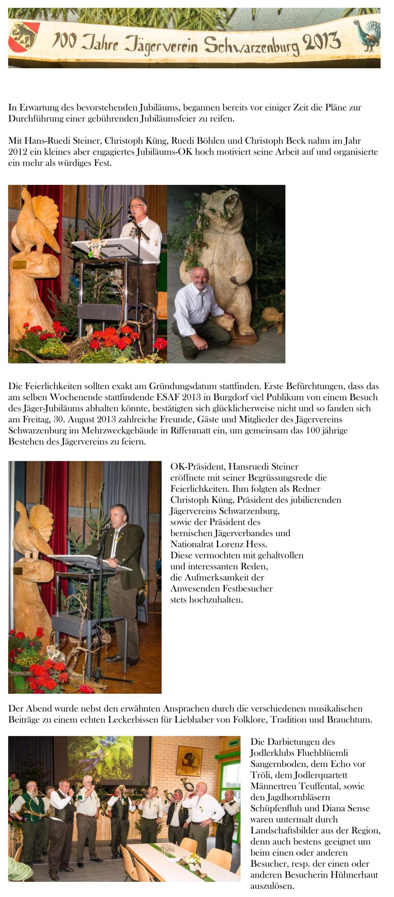 Bericht Jubiläum JVS1